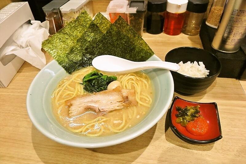『博多家系ラーメン松本家』醤油ラーメン1