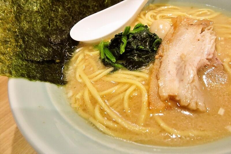 『博多家系ラーメン松本家』醤油ラーメン4