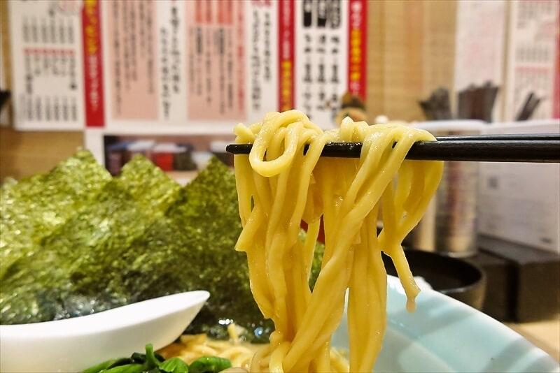 『博多家系ラーメン松本家』醤油ラーメン8