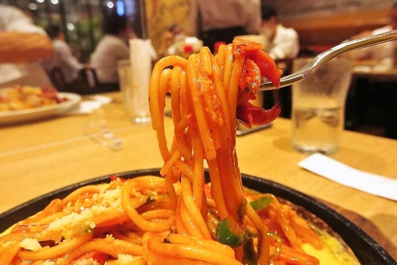 『スパゲティハウス チャオ』鉄板ナポリタン8