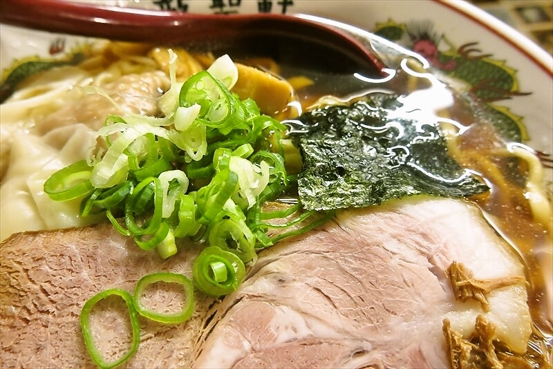 『町田 龍聖軒』醤油ワンタン麺4