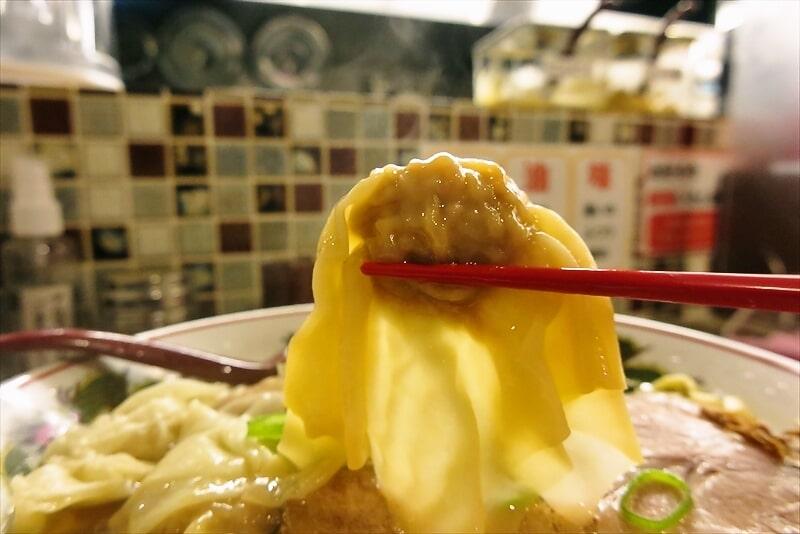 『町田 龍聖軒』醤油ワンタン麺7