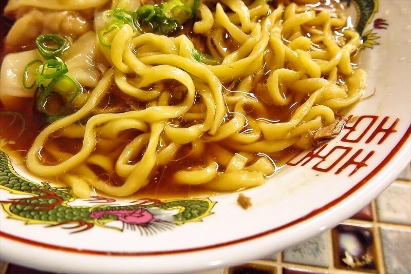 『町田 龍聖軒』醤油ワンタン麺9