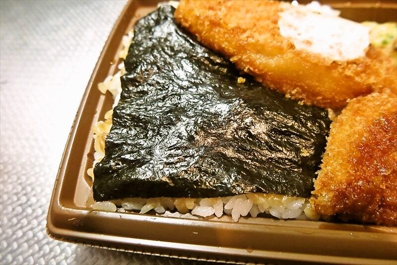 セブンイレブン『海苔弁当』3