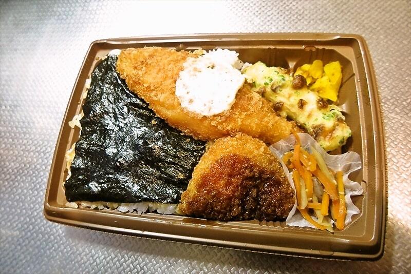 セブンイレブン『海苔弁当』2