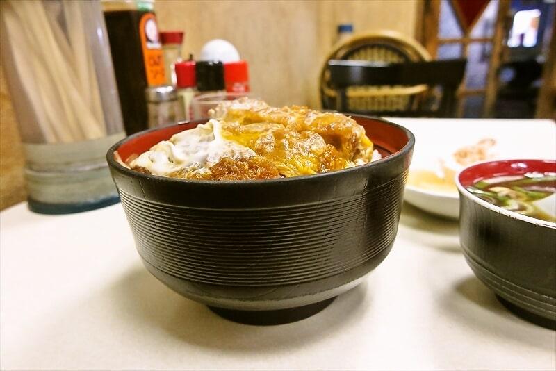 『中華料理 大勝軒』カツ丼6