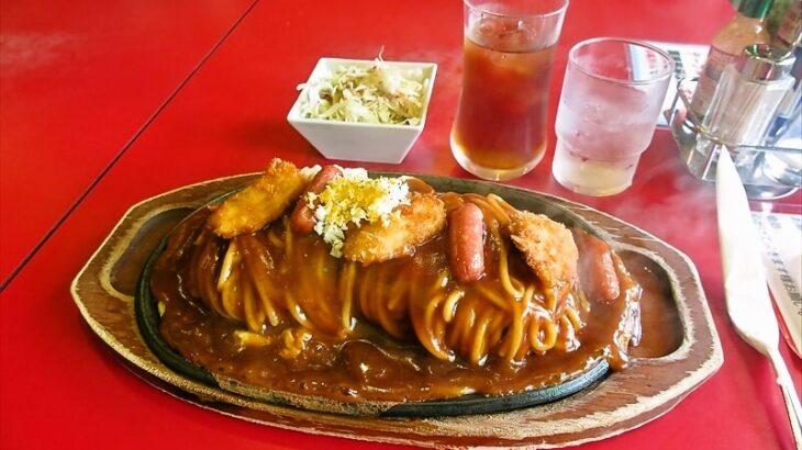 『スパゲッ亭 チャオ本店』あんかけスパゲッティLLのボリューム感など@豊橋