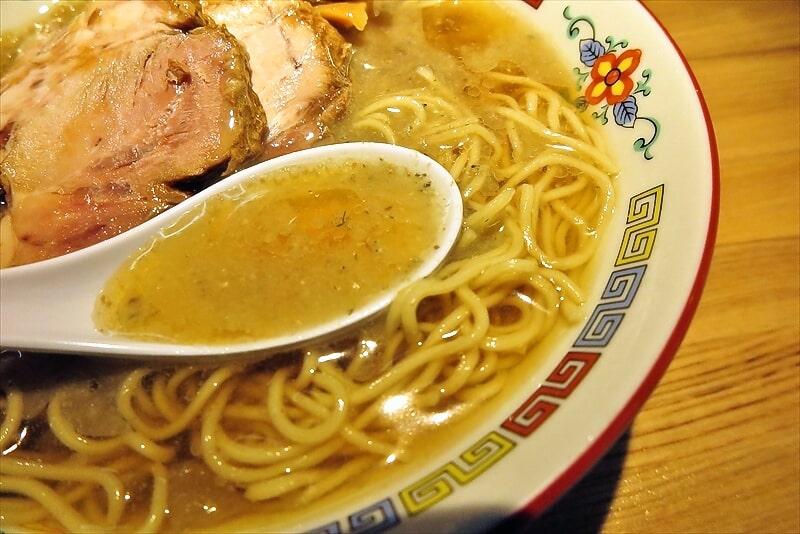 『煮干中華 余韻』冷やしラーメン6