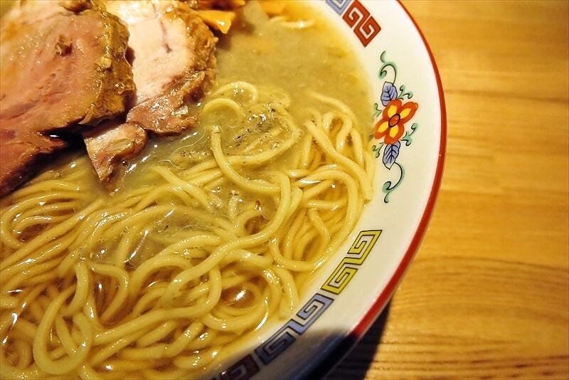 『煮干中華 余韻』冷やしラーメン2