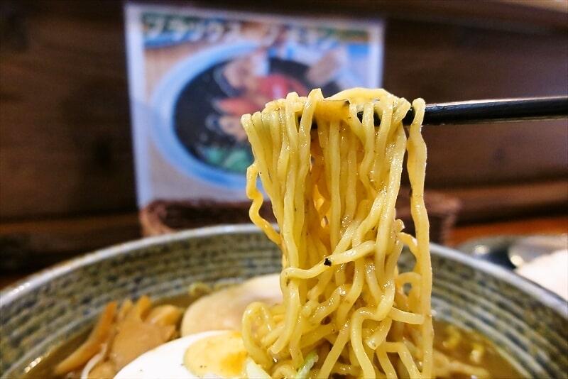 『スープカレーぶらっちゃ』カレーラーメン7
