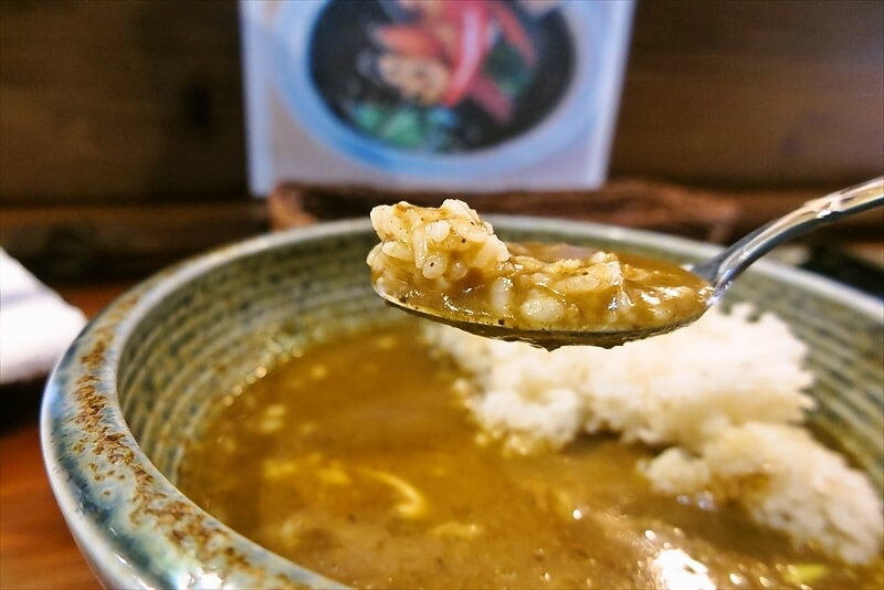『スープカレーぶらっちゃ』カレーラーメン10