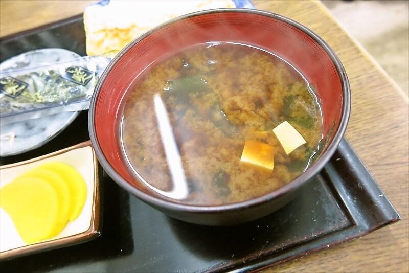 『大衆食堂 江戸っ子』玉子焼き朝定食9