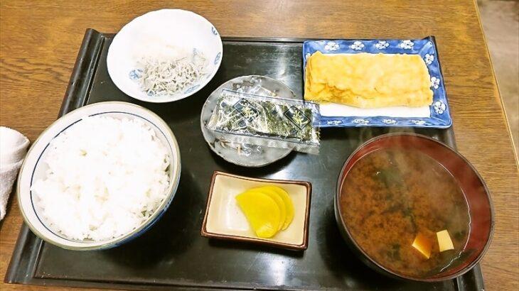 『大衆食堂 江戸っ子』昭和レトロな食堂で玉子焼き朝定食