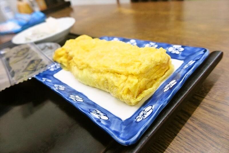 『大衆食堂 江戸っ子』玉子焼き朝定食7