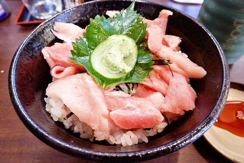 『御用寿司 相模原中央店』とろぶつ丼2