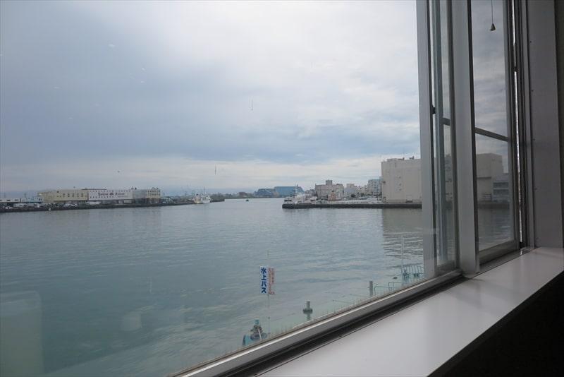 清水港『海山』からの眺望