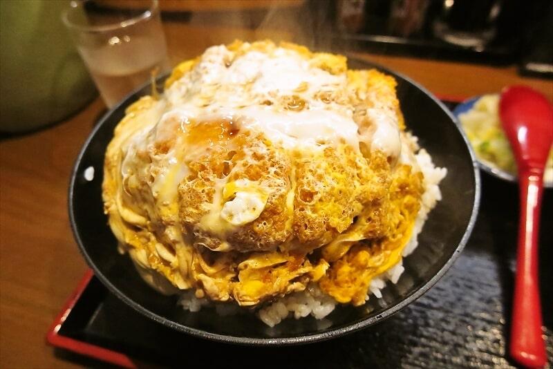 『そば処 まる栄』カツ丼(二段)3