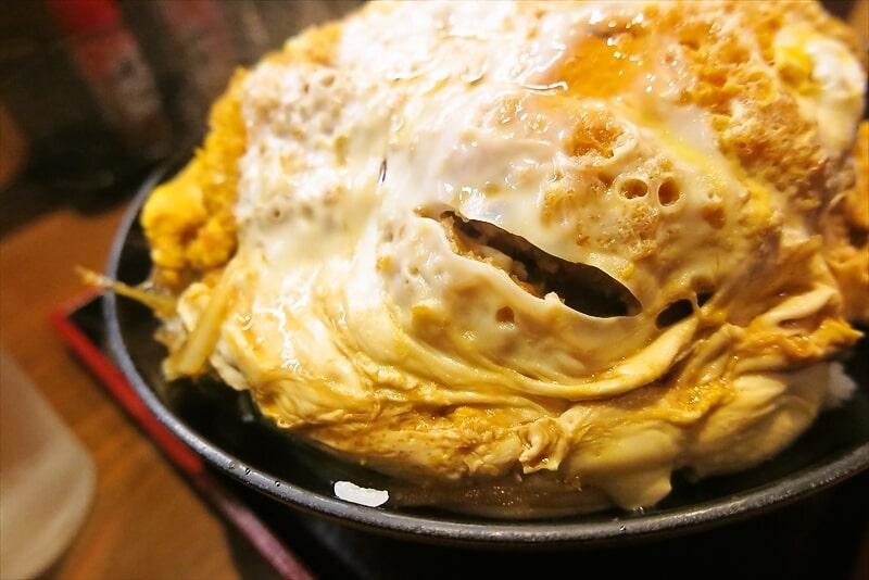 『そば処 まる栄』カツ丼(二段)6