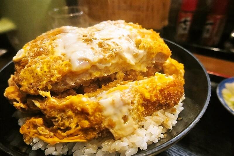 『そば処 まる栄』カツ丼(二段)7