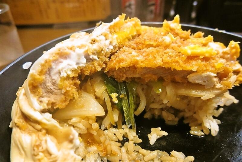 『そば処 まる栄』カツ丼(二段)10