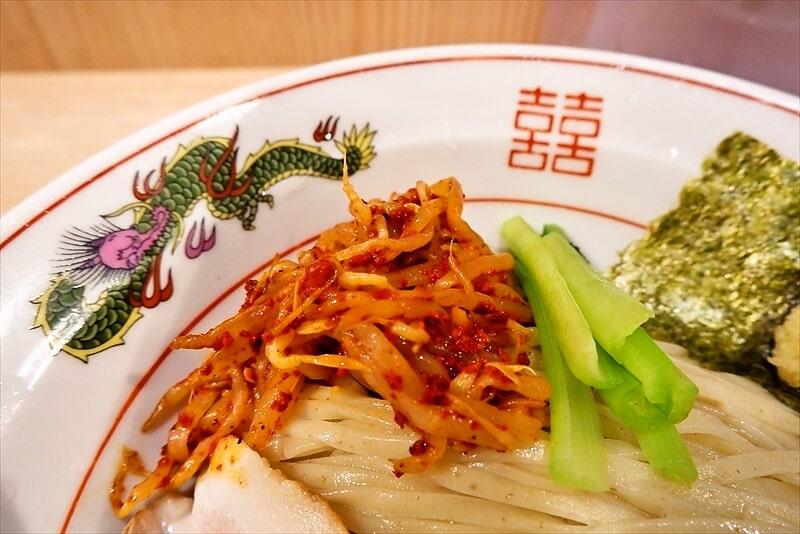 『中村麺三郎商店』味噌つけ麺7