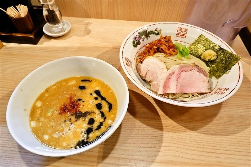 『中村麺三郎商店』味噌つけ麺1