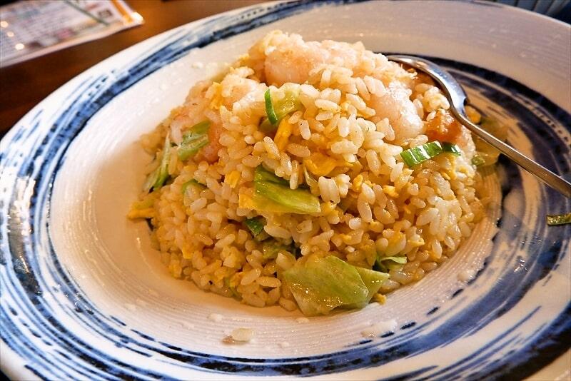 『北京飯店』海老炒飯2