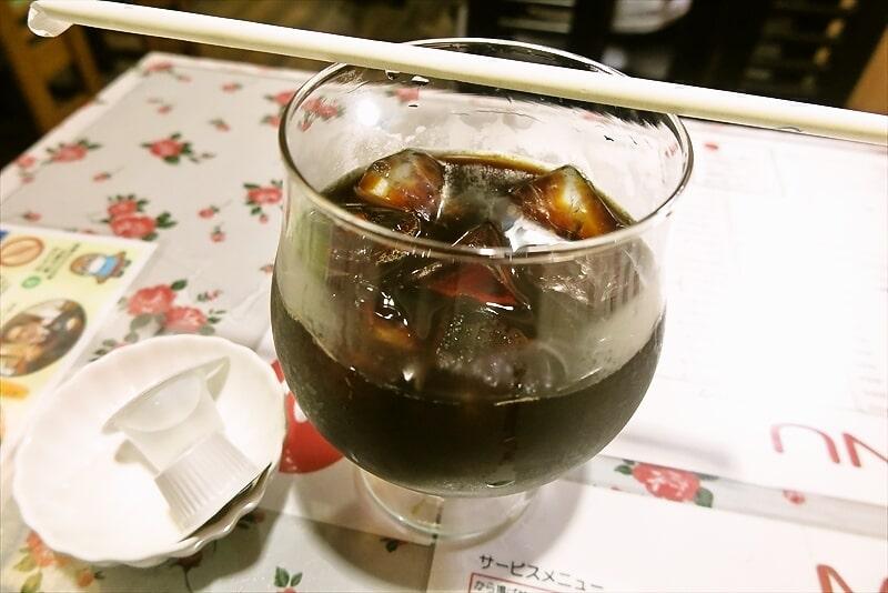 『カフェレスト トマト』アイスコーヒー2
