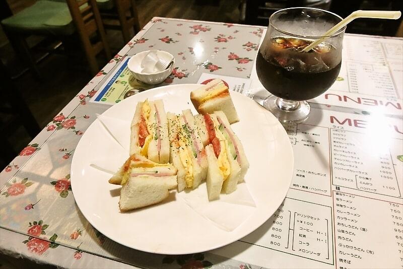 『カフェレスト トマト』玉子サンドセット1