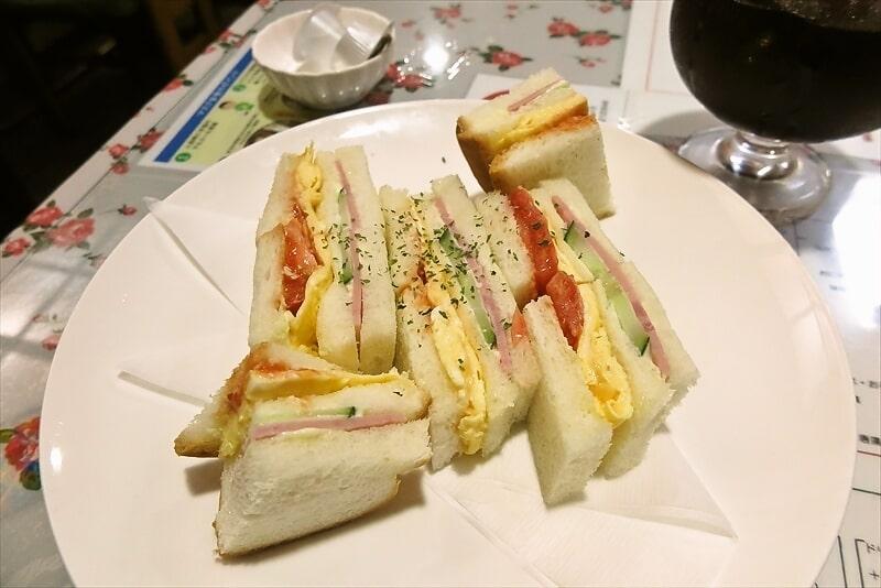 『カフェレスト トマト』玉子サンドセット2