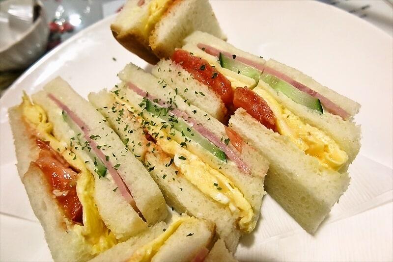 『カフェレスト トマト』玉子サンドセット4