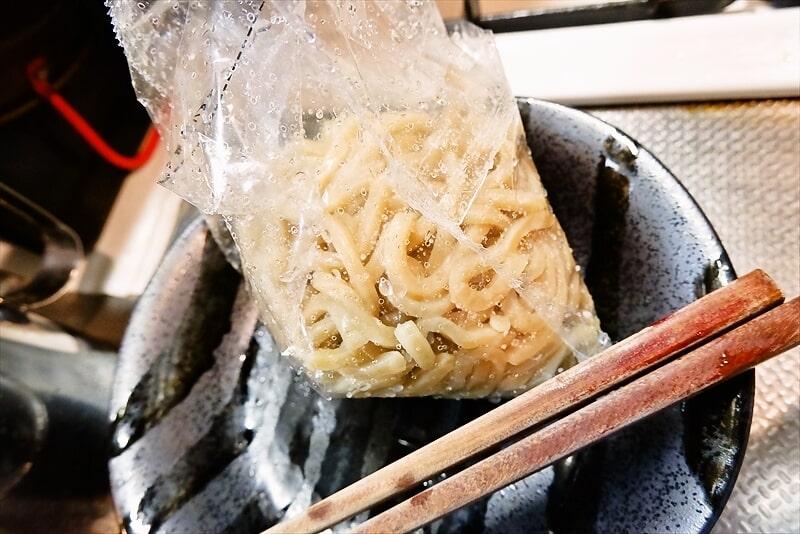 『中華蕎麦 とみ田 濃厚魚介豚骨つけめん』冷凍9