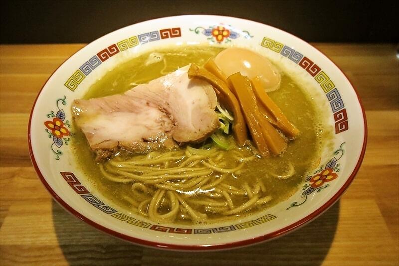 『煮干中華 余韻』味玉凝縮煮干ラーメン1