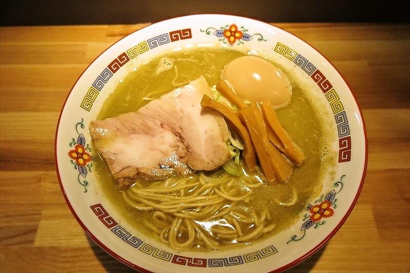 『煮干中華 余韻』味玉凝縮煮干ラーメン2