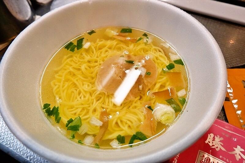 『中華そば勝本 東京芳醇煮干ししょうゆ』カップ麺5