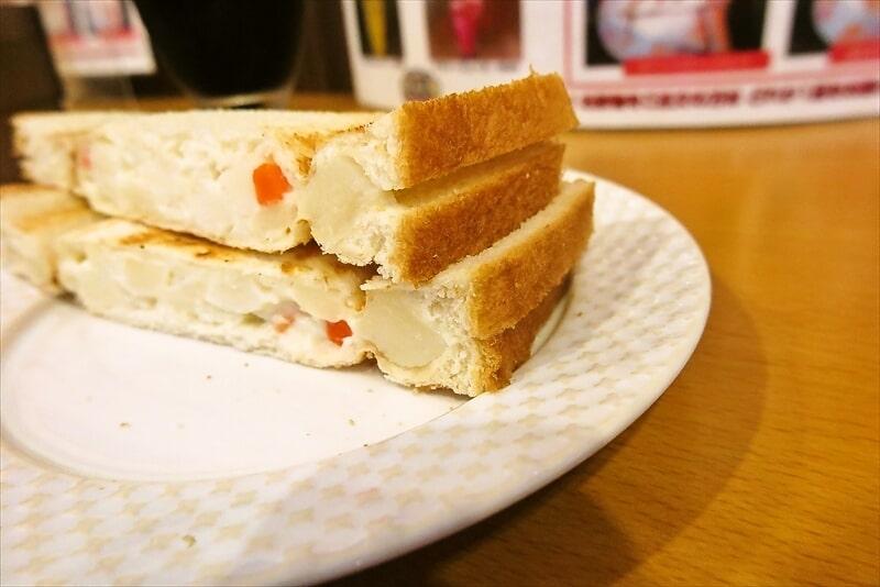 『モーニング喫茶リヨン』ポテトサラダプレスサンド5