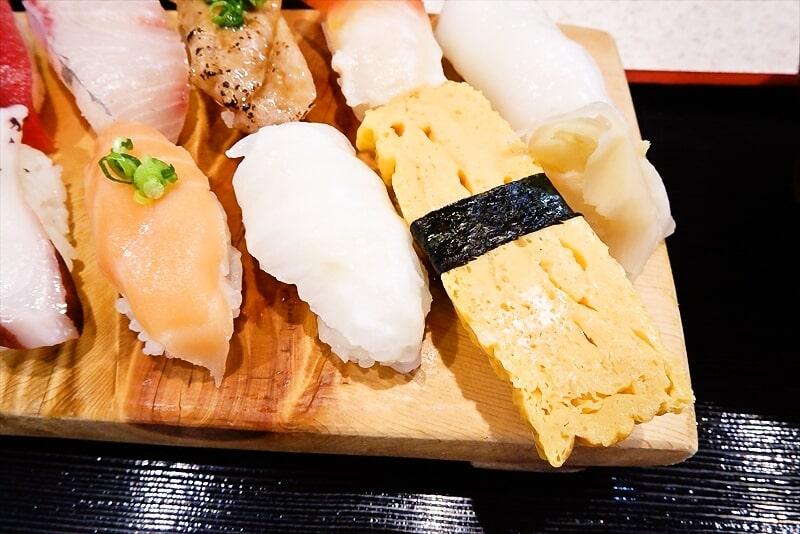 『まぐろ亭』ランチ握り寿司4