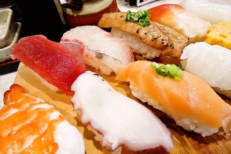 『まぐろ亭』ランチ握り寿司7