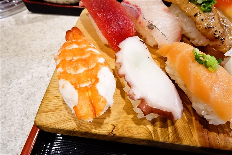 『まぐろ亭』ランチ握り寿司8