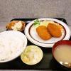 """『ミズタニ』で""""特製牛肉コロッケ定食""""など如何でしょうか?@浅草橋"""