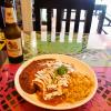 『タコス&サルサ・メキシカン・バー&レストラン』店名長い店でブリトー食べた@バン