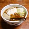"""【冷やがけ】『松屋』で""""とろろなめこそば""""を食べて来ました@秋田県【蕎麦】"""
