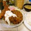神保町『キッチンマミー』で圧倒的なボリュームを誇るフライ料理とか